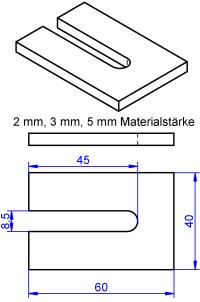 Unterlegplatte-Sonderangebot mehr Infos Skizze klicken